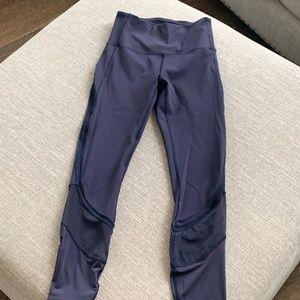 Navy blue Lululemon leggings Size 4